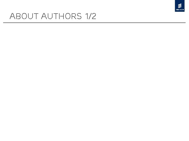 About Authors 1/2