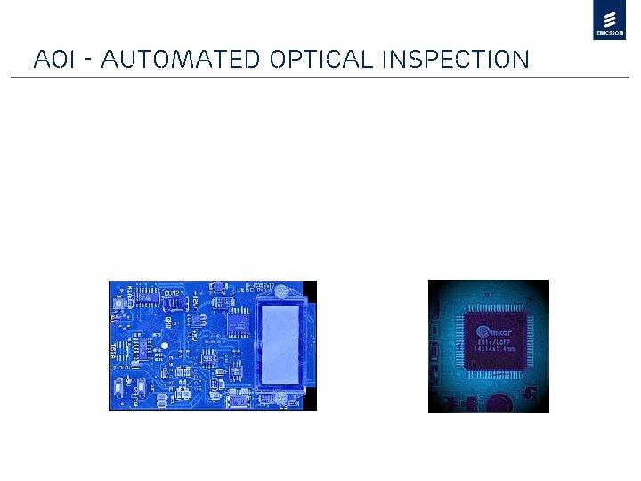 AOI - Automated Optical Inspection
