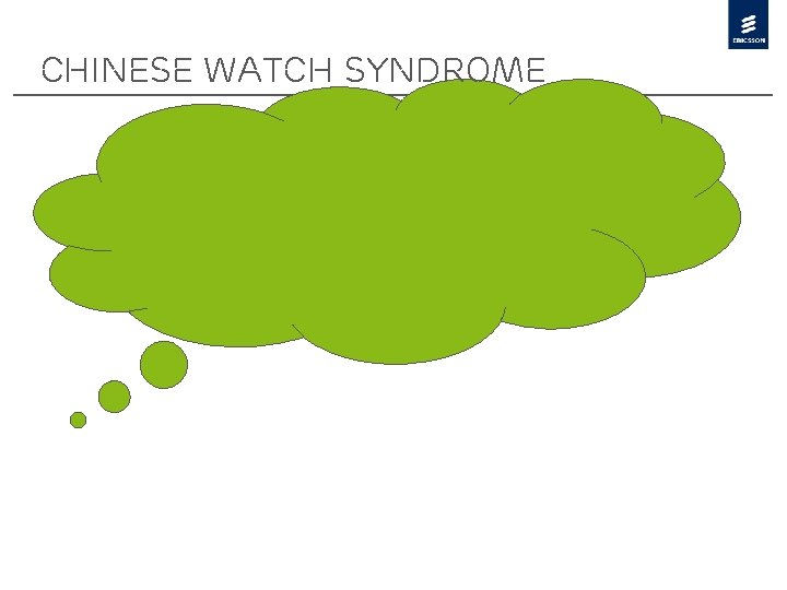 Chinese watch Syndrome