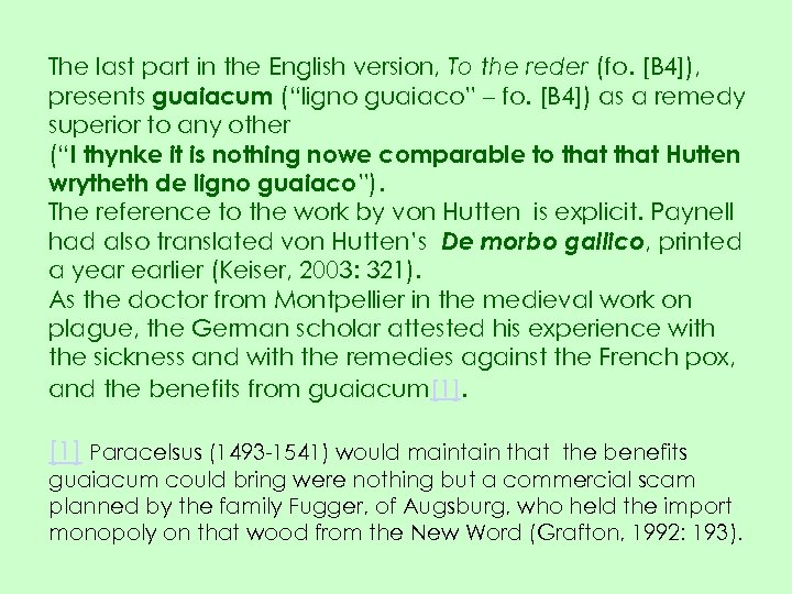 The last part in the English version, To the reder (fo. [B 4]), presents