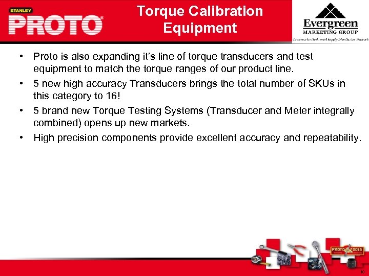 Torque Calibration Equipment • Proto is also expanding it's line of torque transducers and