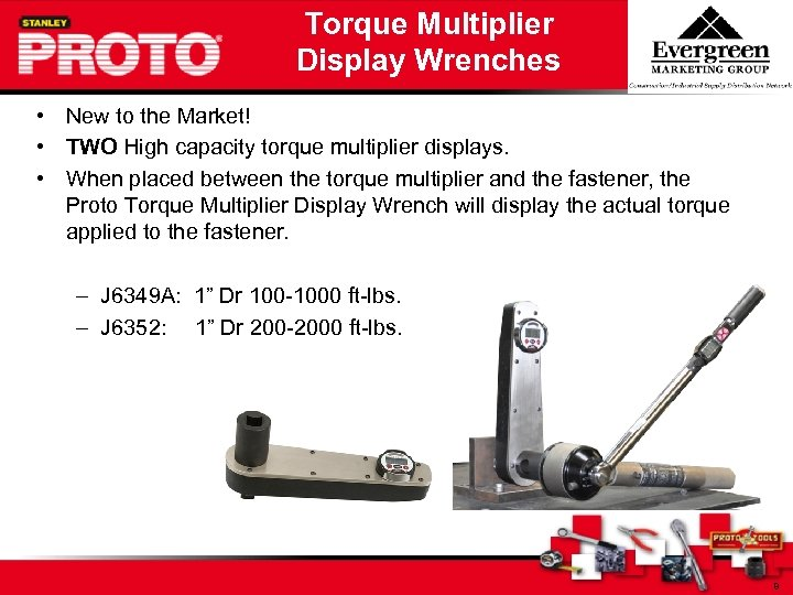 Torque Multiplier Display Wrenches • New to the Market! • TWO High capacity torque
