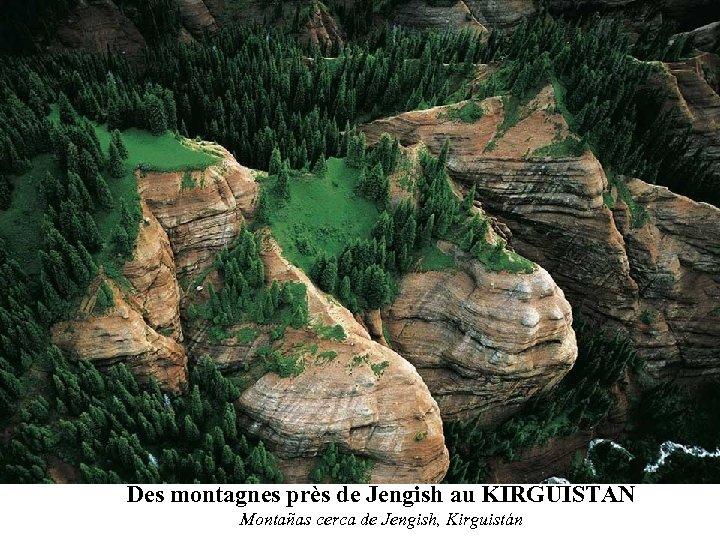 Des montagnes près de Jengish au KIRGUISTAN Montañas cerca de Jengish, Kirguistán