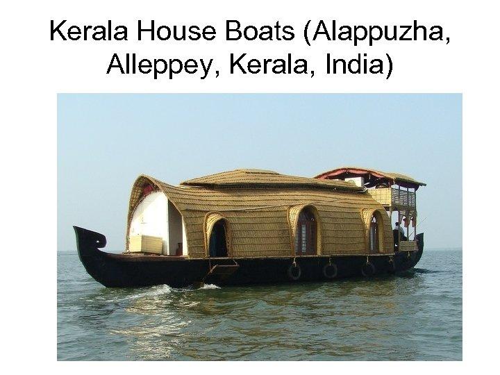 Kerala House Boats (Alappuzha, Alleppey, Kerala, India)
