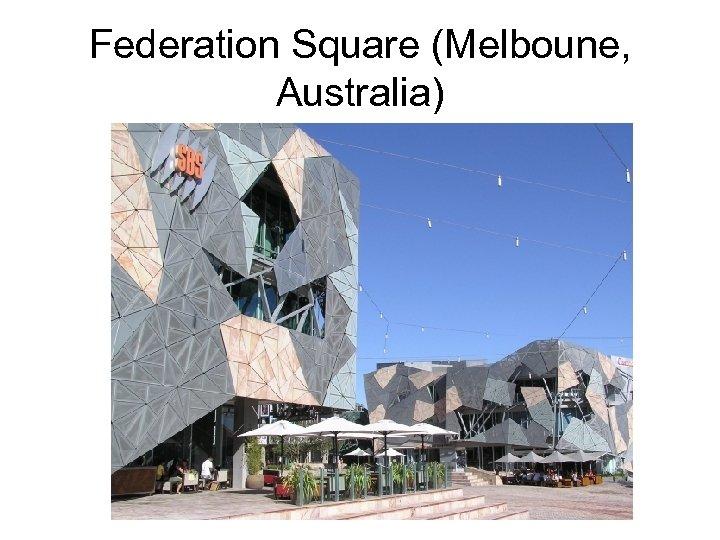 Federation Square (Melboune, Australia)