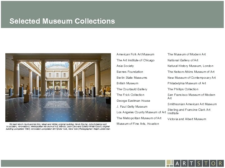 Art. STOR Selected Museum Collections American Folk Art Museum The Museum of Modern Art