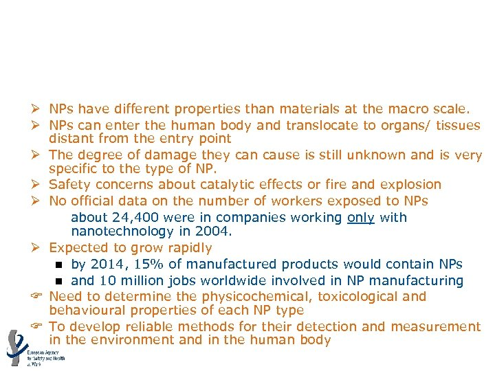 Nanoparticles (NPs) (MV=4. 50) Ø NPs have different properties than materials at the macro