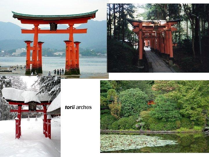 torii arches