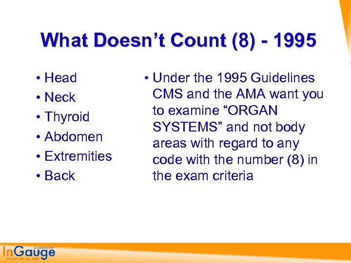 What Doesn't Count (8) - 1995 • Head • Neck • Thyroid • Abdomen