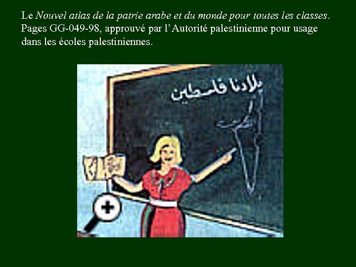 Le Nouvel atlas de la patrie arabe et du monde pour toutes les classes.