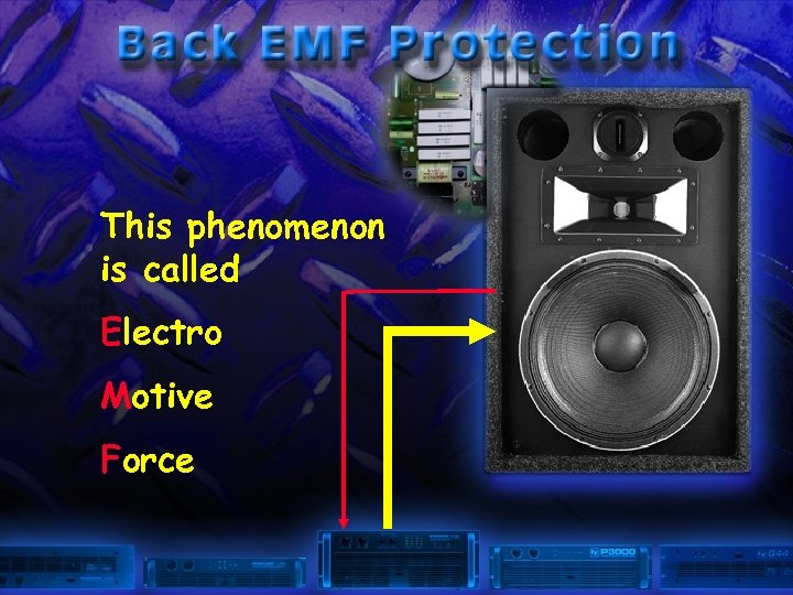 This phenomenon is called Electro Motive Force