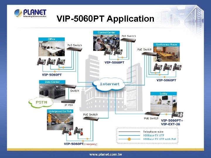 VIP-5060 PT Application