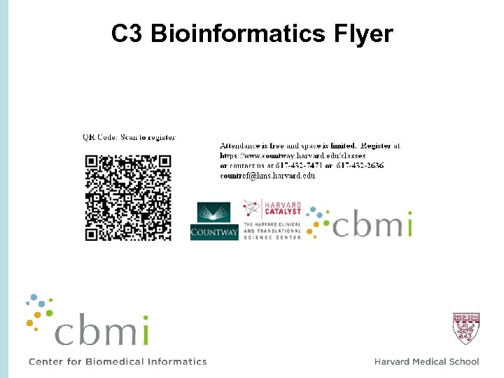 C 3 Bioinformatics Flyer