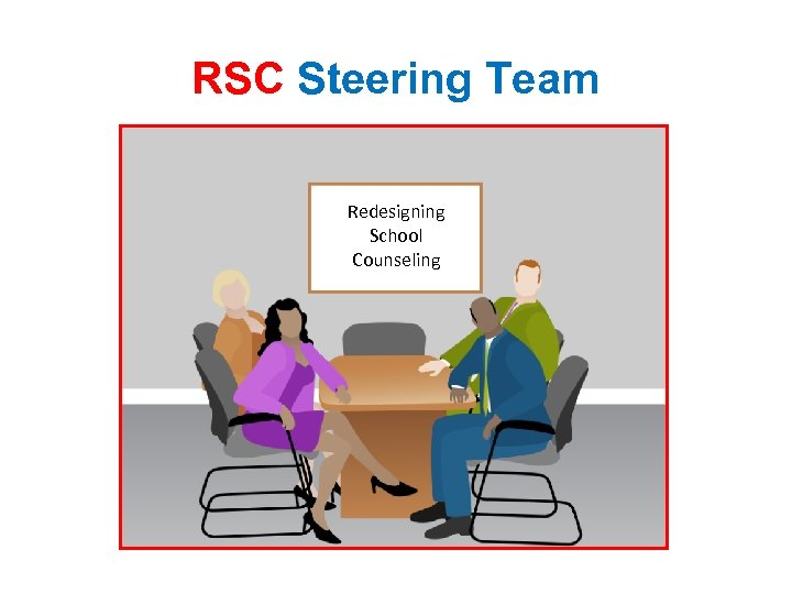 RSC Steering Team Redesigning School Counseling