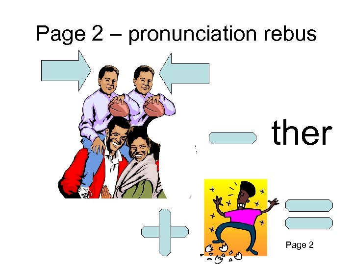 Page 2 – pronunciation rebus ther Page 2