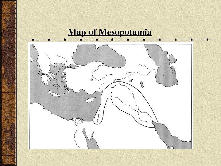 Map of Mesopotamia