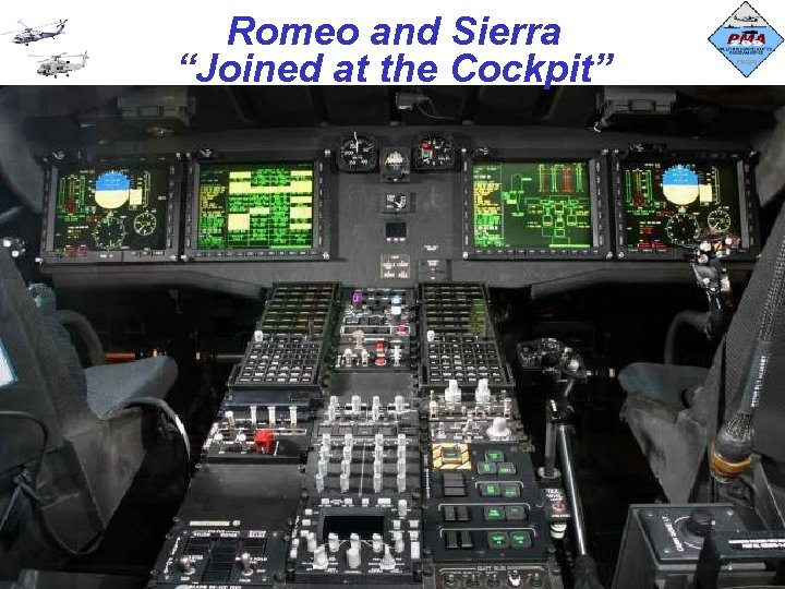 """Romeo and Sierra """"Joined at the Cockpit"""" 2"""