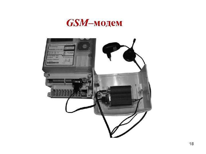 GSM–модем 18