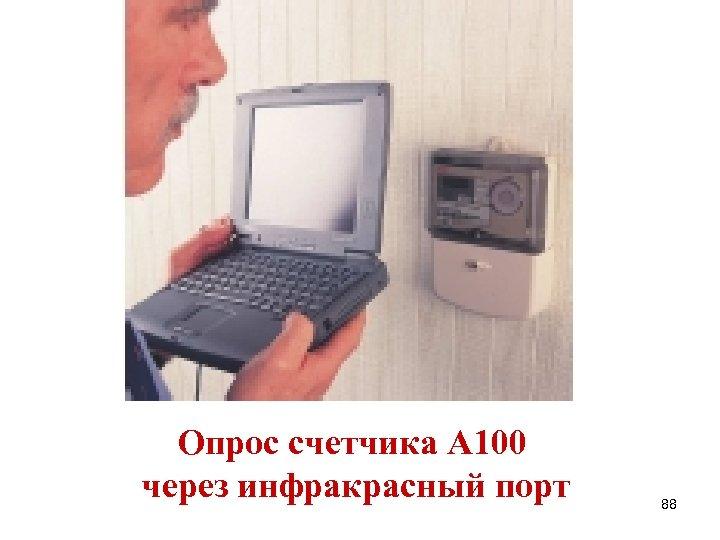 Опрос счетчика А 100 через инфракрасный порт 88