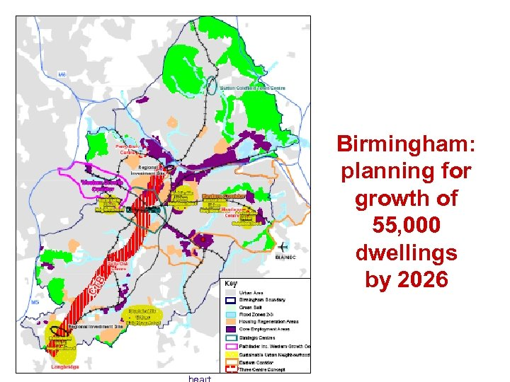 Birmingham: planning for growth of 55, 000 dwellings by 2026 Perry Barr Meadway BIA