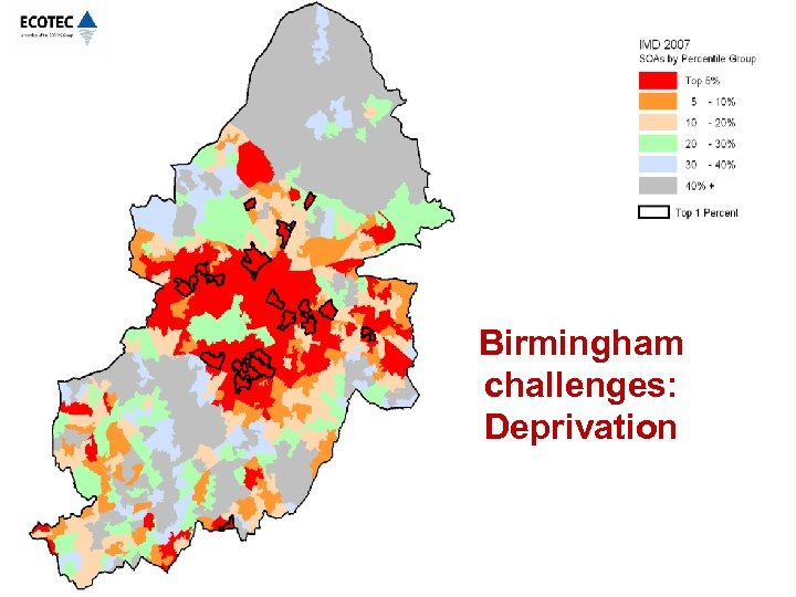 Birmingham challenges: Deprivation