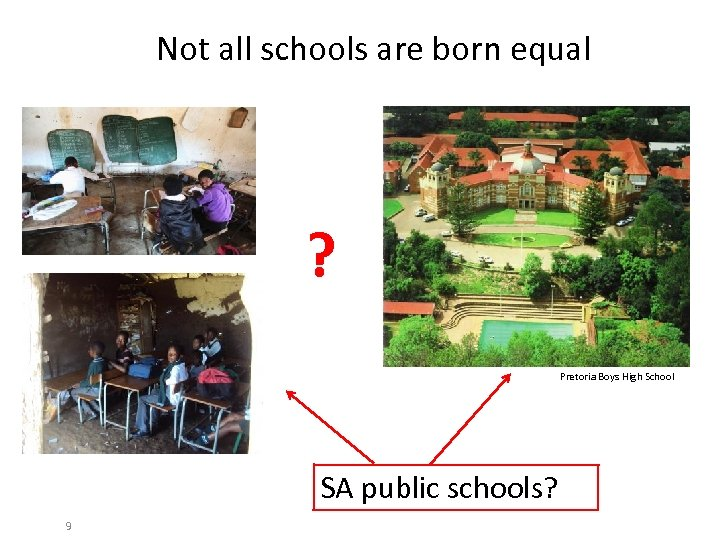 Not all schools are born equal ? Pretoria Boys High School SA public schools?