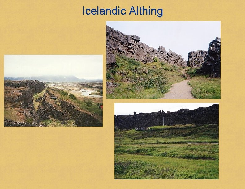 Icelandic Althing