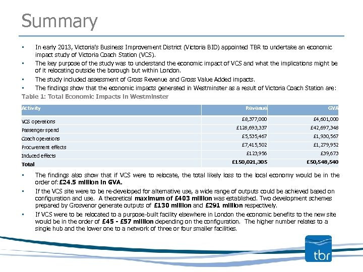 Summary In early 2013, Victoria's Business Improvement District (Victoria BID) appointed TBR to undertake
