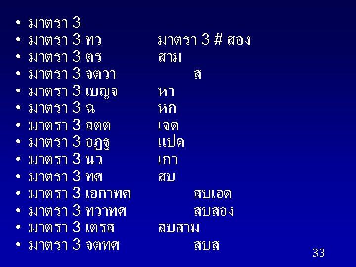 • • • • มาตรา 3 ทว มาตรา 3 ตร มาตรา 3 จตวา