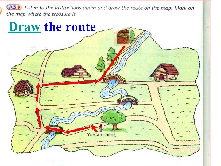 Draw the route
