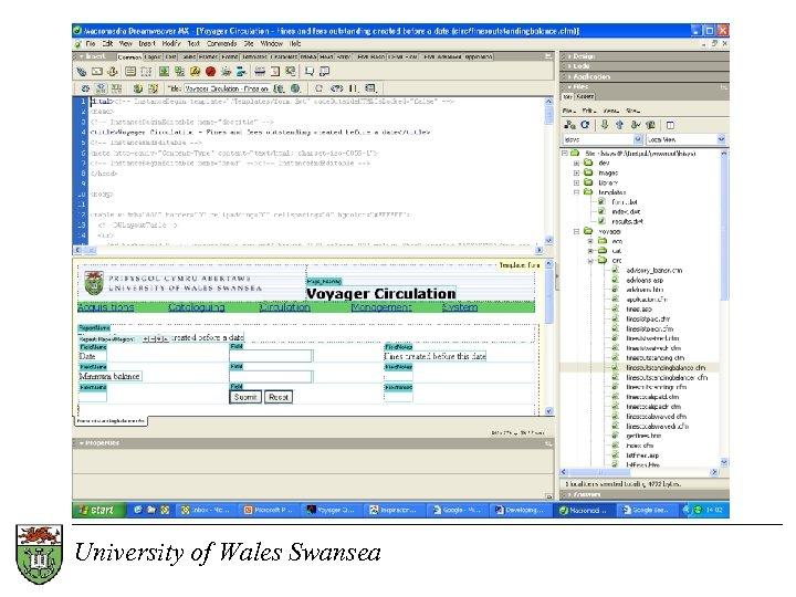 University of Wales Swansea