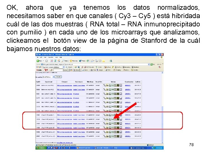 OK, ahora que ya tenemos los datos normalizados, necesitamos saber en que canales (