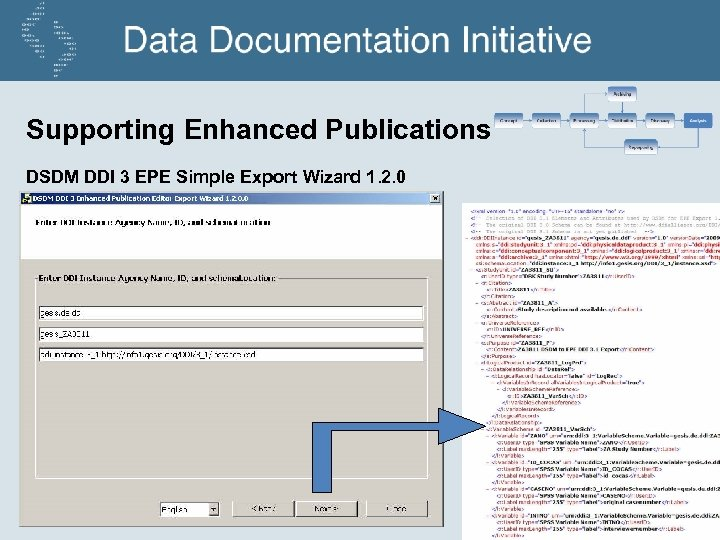 Supporting Enhanced Publications DSDM DDI 3 EPE Simple Export Wizard 1. 2. 0