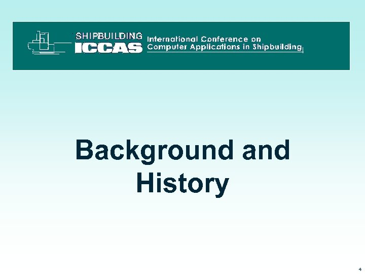Background and History 3/15/2018 4