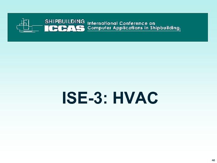 ISE-3: HVAC 3/15/2018 48