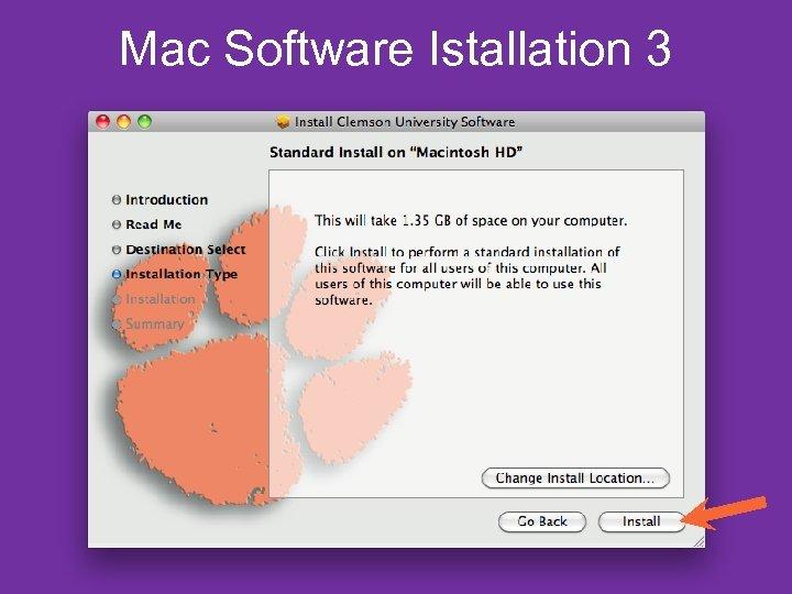Mac Software Istallation 3