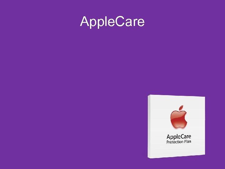Apple. Care