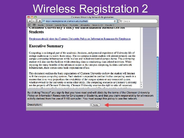 Wireless Registration 2