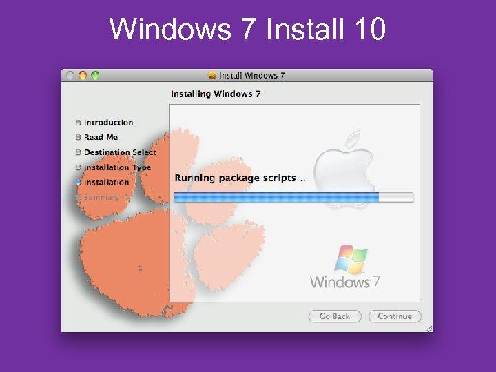 Windows 7 Install 10