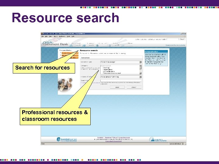 Resource search Search for resources Professional resources & classroom resources