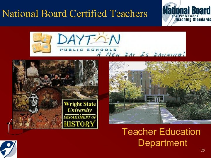 National Board Certified Teachers Teacher Education Department 20