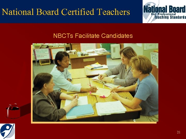 National Board Certified Teachers NBCTs Facilitate Candidates 21