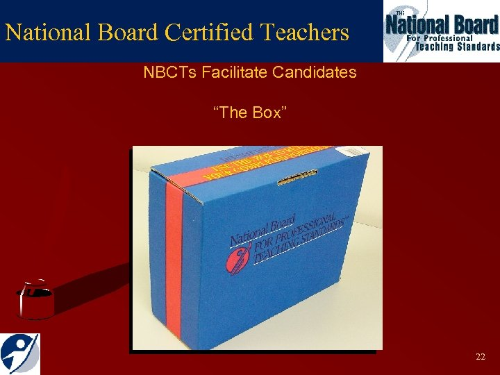"National Board Certified Teachers NBCTs Facilitate Candidates ""The Box"" 22"