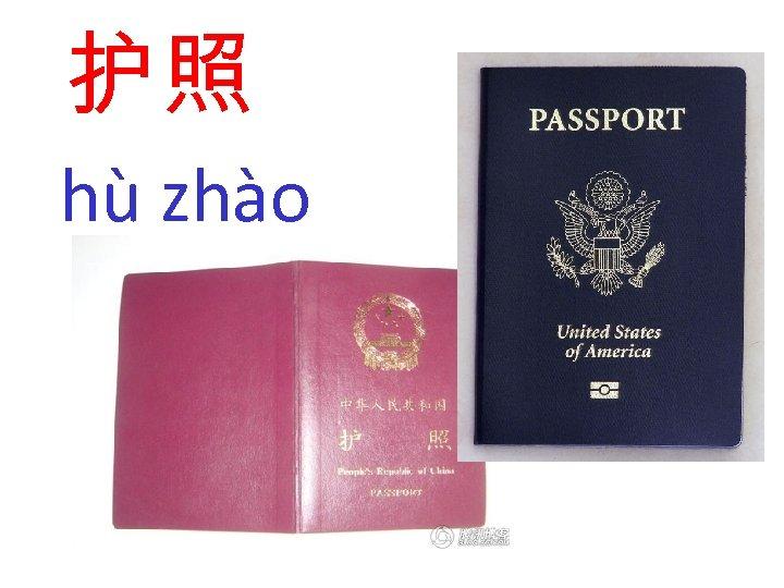 护照 hù zhào