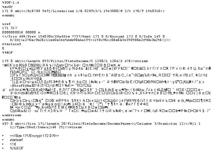 %PDF-1. 4 %вг. ПУ 171 0 obj<</H[6788 949]/Linearized 1/E 828913/L 1543800/N 2/O 176/T 1540316>>