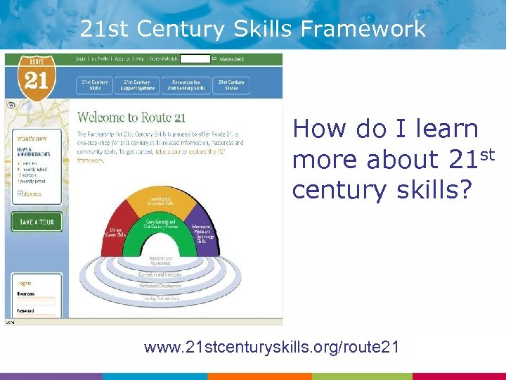 21 st Century Skills Framework How do I learn more about 21 st century