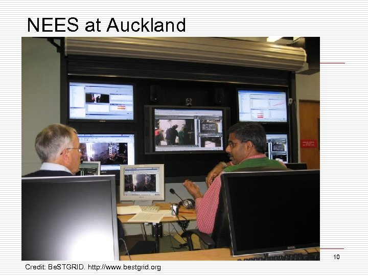 NEES at Auckland 10 Credit: Be. STGRID. http: //www. bestgrid. org