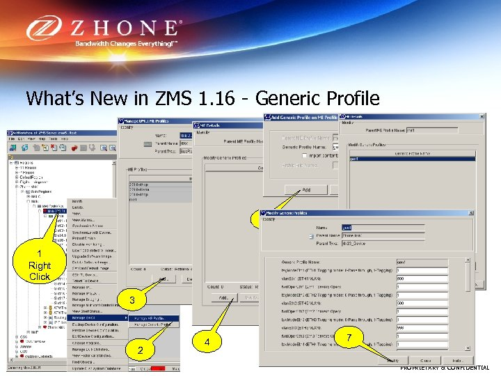 What's New in ZMS 1. 16 - Generic Profile 5 6 1 Right Click