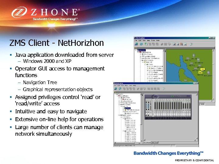 ZMS Client - Net. Horizhon § Java application downloaded from server – Windows 2000