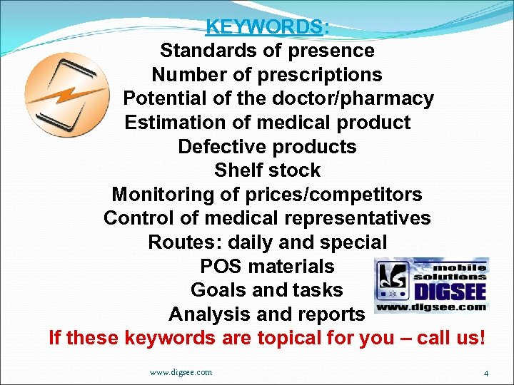 KEYWORDS: Standards of presence Number of prescriptions Potential of the doctor/pharmacy Estimation of medical